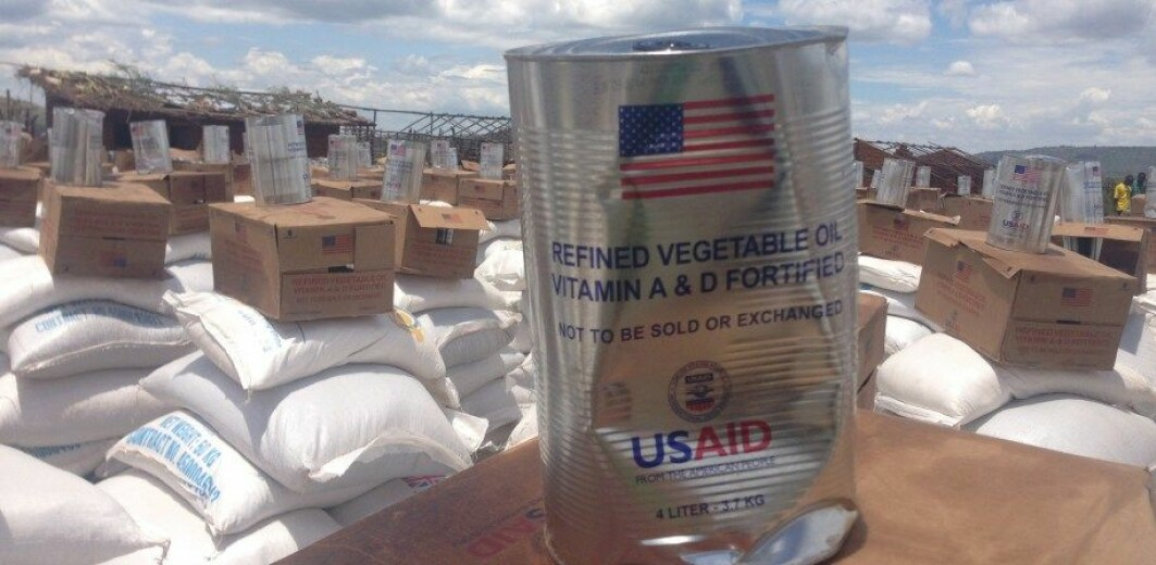 Provision of rice, oil and maize to refugees in Uganda.