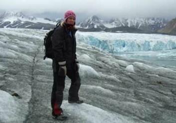 Britiske Lisa Baddeley leder SPEAR-prosjektet på Svalbard.