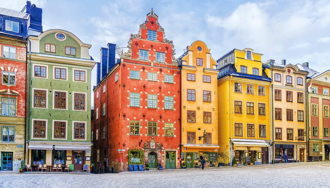 I Stockholm fant forskerne lav forekomst av antibiotikaresistente bakterier.