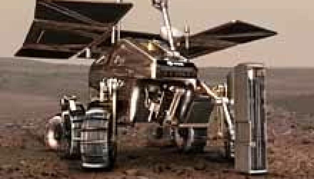 Spleiselag til Mars