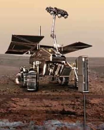 """ESAs ExoMars. (Illustrasjon: ESA)"