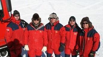 Samlet på Sørpolen