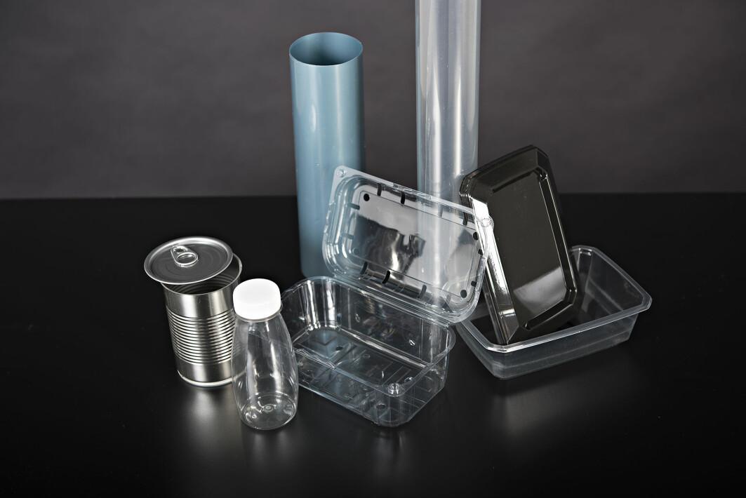 Flere typer emballasjevarianter er analysert i prosjektet.