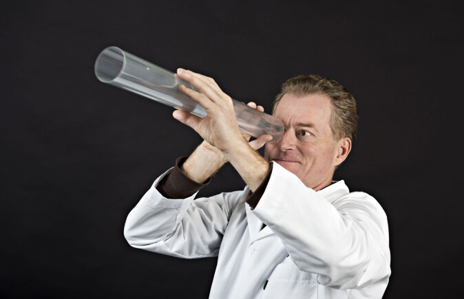 Seniorforsker John-Erik Haugen i Nofima har hatt ansvaret for emballasjeanalysene som er gjort hos Nofima.
