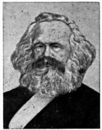 """""""Adam Smith fikk en voldsom innflytelse, også på revolusjonære som Karl Marx (1818-1883)."""""""