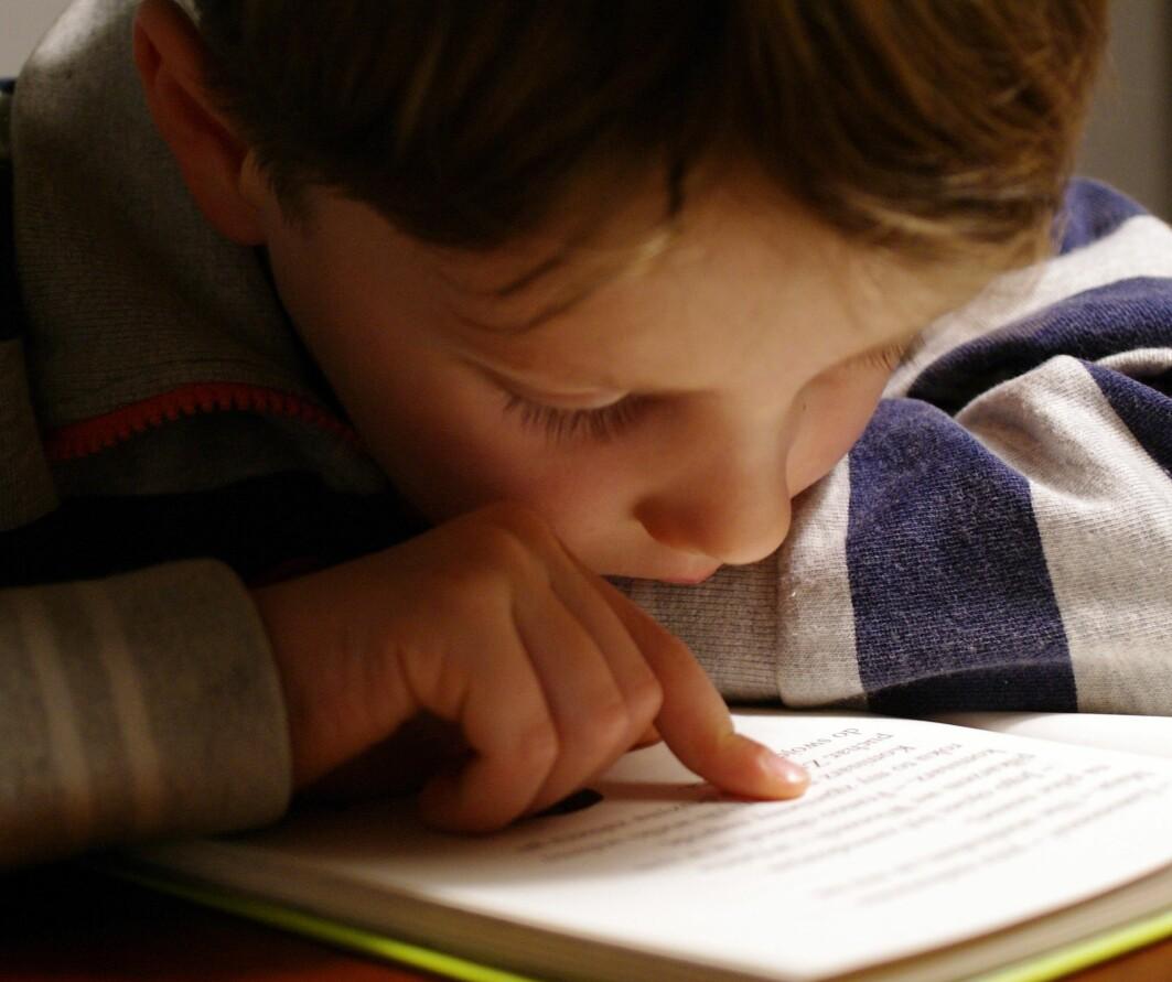 Noen barn kan ha problemer med å oppfatte nyansene mellom lyder, som høres like ut, som for eksempel n og m eller g og k.