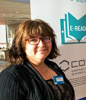 – Langlesing er under press, og det er den typen lesing som er aller best for å utvikle gode leseferdigheter, advarer Anne Mangen.