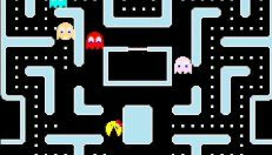 (Bilde: CEC Ms Pac-Man versus Ghost Team Competition)
