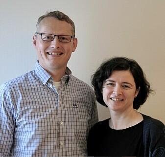 Mads Bugge Amundsen fra Biobe og Cecilia Askham fra NORSUS har bidratt til å skaffe norsk plastindustri viktig kunnskap om gjenvinning av plast.