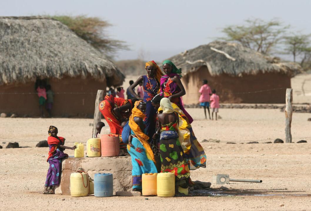 I Afrika er vann til familien framfor alt et kvinneanliggende. (Foto: Shutterstock)
