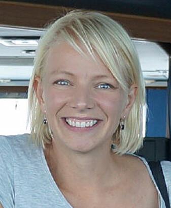 Johanna Markkula forsker på livet om bord de ultrastore containerskipene.