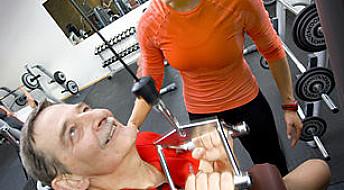 Styrketrening hjelper korsryggen