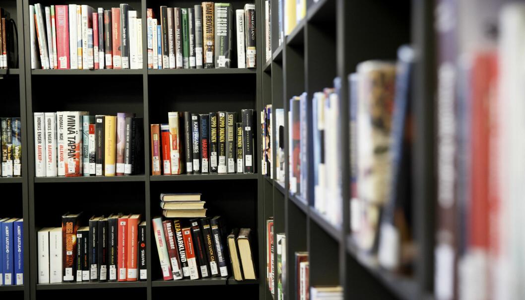 Koronastengte læresteder førte til at antall utlån fra fag- og forskningsbibliotekene sank kraftig.
