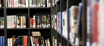 Kraftig nedgang i utlån fra fag- og forskningsbibliotek