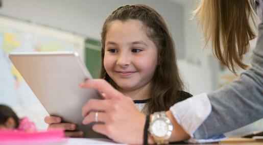 Flimrende skjermer hjelper barn med lese- og skrivevansker