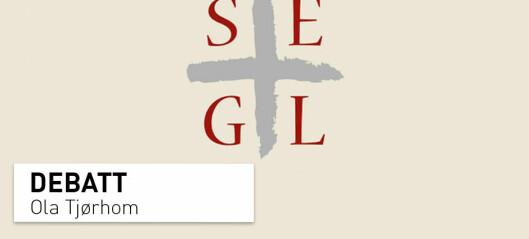 Villedende respons i SEGL-saken: Jeg ønsker å slå et slag for forskningens frihet