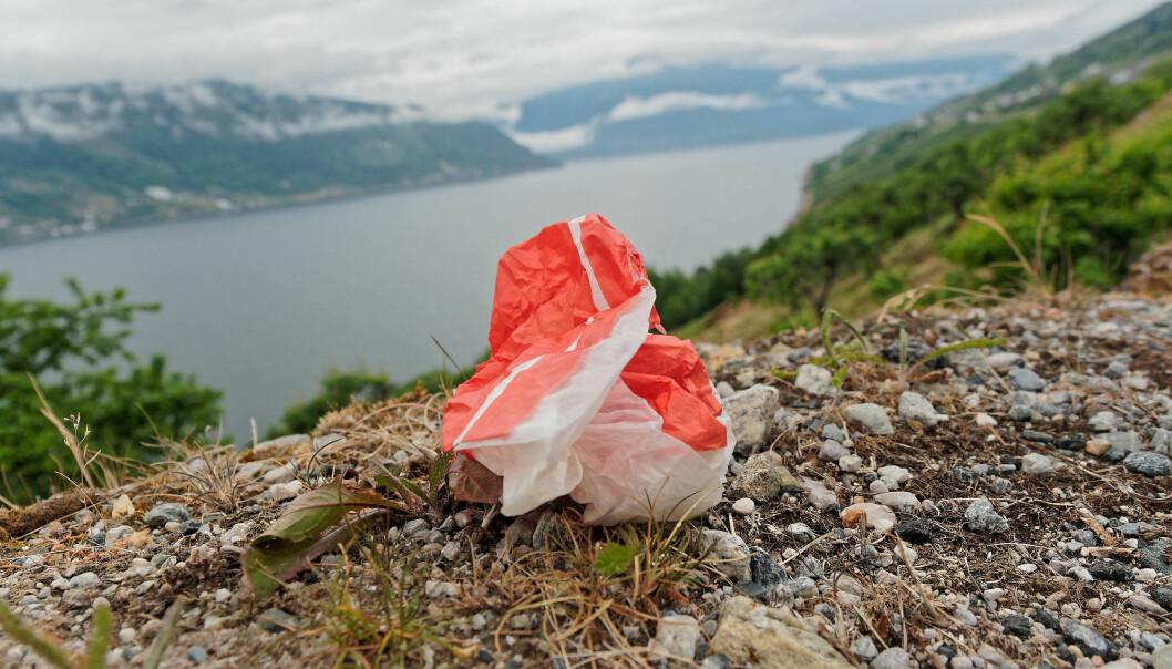 Det er plasten som flyter i naturen, som du ser best. I den store sammenhengen, derimot, er det slett ikke den som er verst.