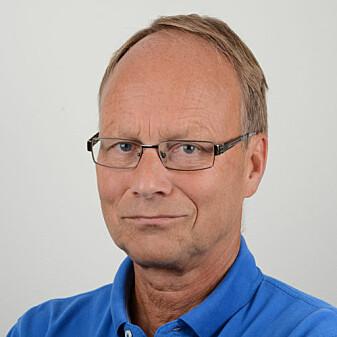 Teknisk ekspert Anders Solheim sammenligner kvikkleire med korthus.