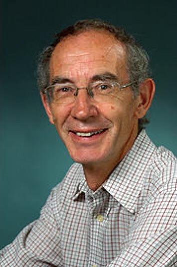 John E. Brittain. Foto: Per Aas, NHM/UiO