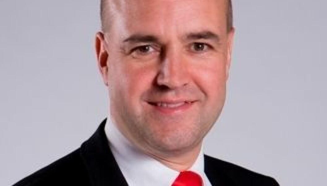 Fredrik Reinfeldt. (Foto: Emilia Öije/moderat.se)