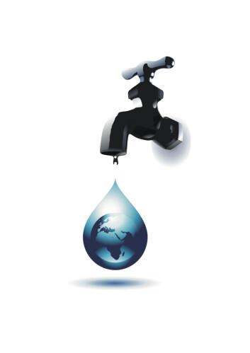 Rent vann er en knapp ressurs mange steder i Afrika. (Illustrasjon: Shutterstock)