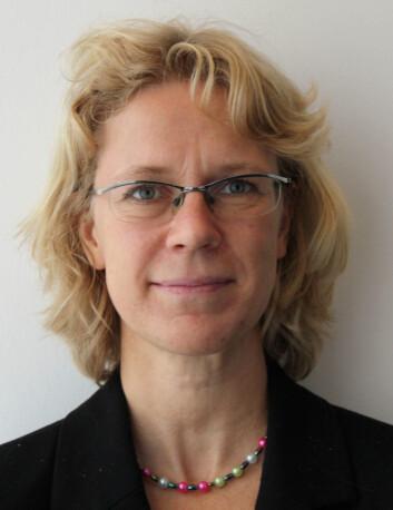 Ann-Zofie Duvander. (Foto: Anita Haslie)