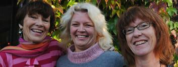 Astrid Bergland, Hilde Sylliaas og Gro Idland