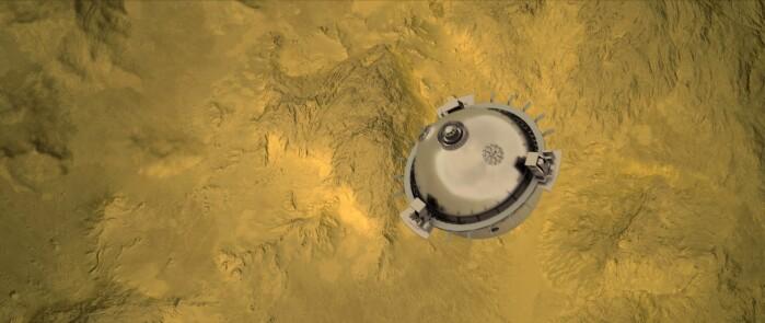 I DAVINCI+-ekspedisjonen skal NASA slippe en sonde gjennom Venus sin atmosfære.
