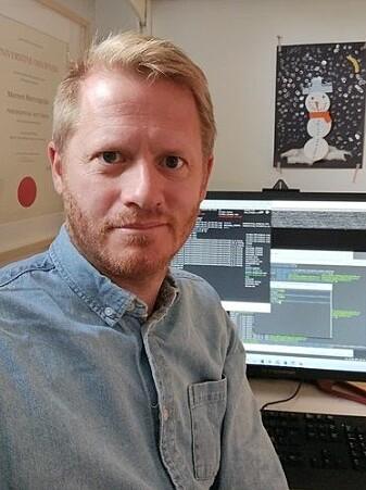 Morten Mattingsdal ved UiAs Fakultet for teknologi og realfag.