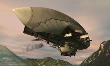 """""""En av Ludwig IIs flyvedrømmer var et luftskip som skulle bygges av østerrikeren Gustav Koch. Kongen finansierte prosjektet i hemmelighet, men det ble dessverre aldri fullført. Moderne teknikere mener luftskipet, påbegynt i 1883, kunne vært flyvedyktig. Bilde: Metamatix."""""""