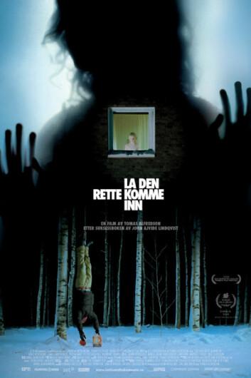 """Plakat for den svenske filmen """"La den rette komme inn"""". (Foto: Sandrew Metronome AS)"""