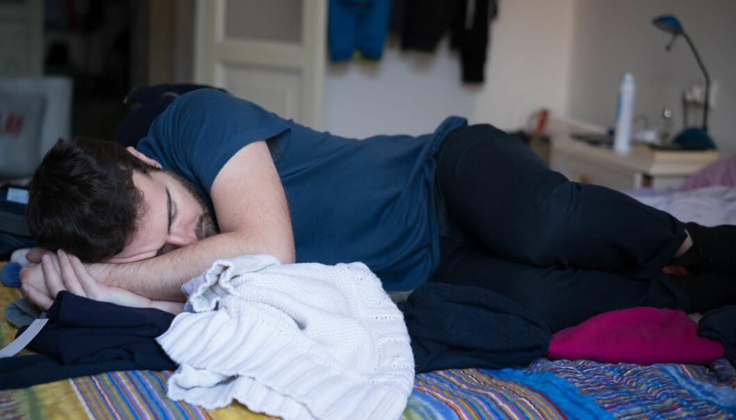 Menn med ME gjorde det dårligere dagen etter trening, mens menn med annen utmattelse presterte bedre.