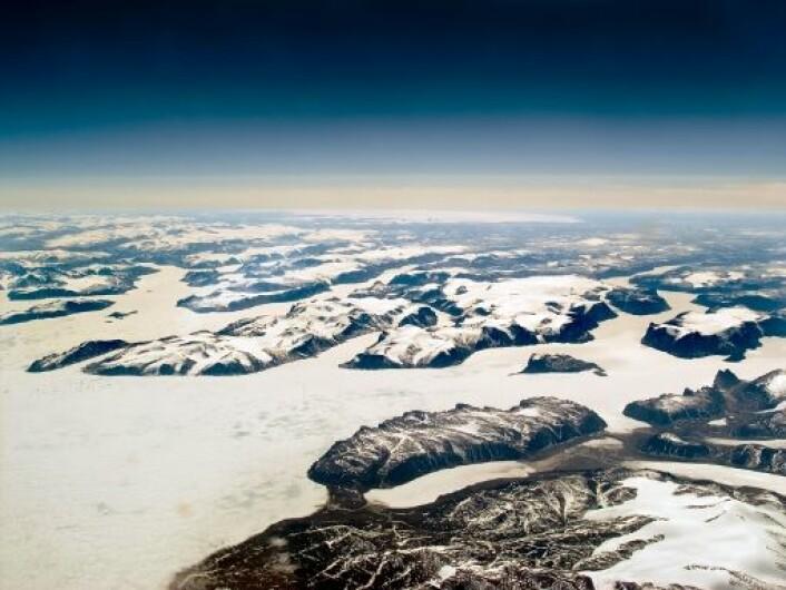 Mot slutten av siste istid var store deler av dagens Canada dekket av en enorm iskappe. Bilde fra Baffin Island. (Foto: iStockphoto)