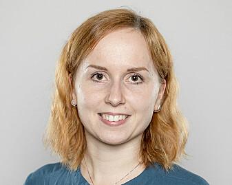 Simona Dzurendova, the PHD researcher responsible for the work.