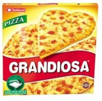 """""""Vi har ofte en unnskyldning på lur når vi serverer Grandiosa."""""""
