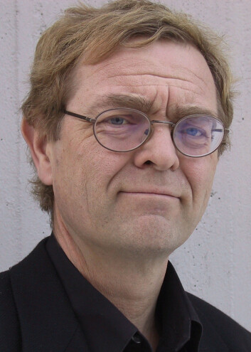 Svein Mossige. (Foto:Halvard Dyb, NOVA)