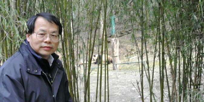 Jianguo (Jack) Liu in the field.