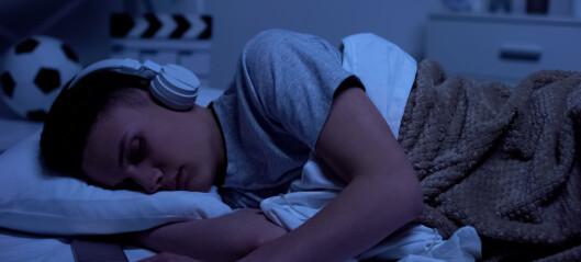 Hvor ofte får du sanger på hjernen rett før du skal legge deg?