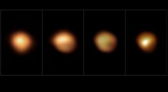 Bilder avslører hvorfor superkjempen Betelgeuse ble mørkere