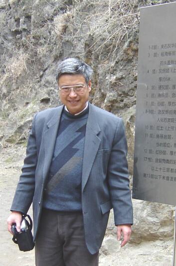 Guanjun Shen, Zhoukoudian. (Foto: Li Yan, Site Museum of Zhoukoudian)