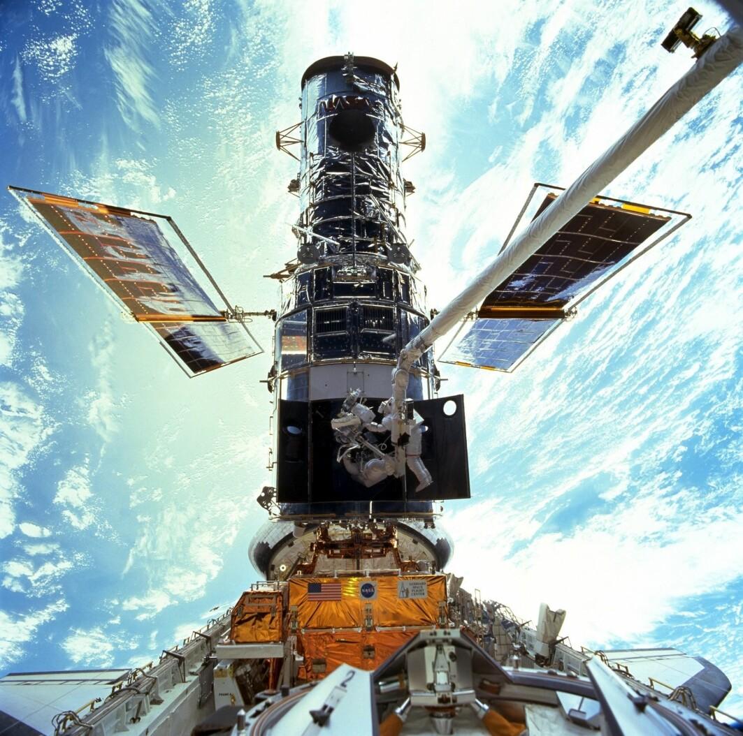 Romteleskopet Hubble har de siste dagene vært ute av drift på grunn av problemer med en datamaskin, opplyser Nasa.