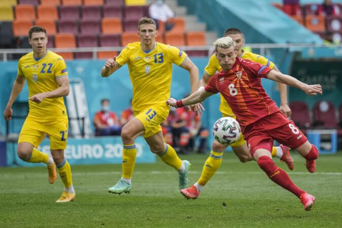 Nord-Makedonia kom til EM bakveien etter å ha slått land som alle hører til den svakeste tredjedelen av europeiske fotballandslag. Mot Ukraina satte Leeds-spiller Ezgjan Alioski inn landets første mål i et sluttspill noen gang.
