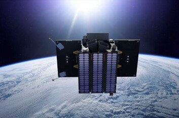 En kunstners bilde av ESAs satellitt Proba-2. På sikt ønsker Norge at de nordiske landene skal samarbeide om egne satellitter. (Illustrasjon: ESA/P. Carril)