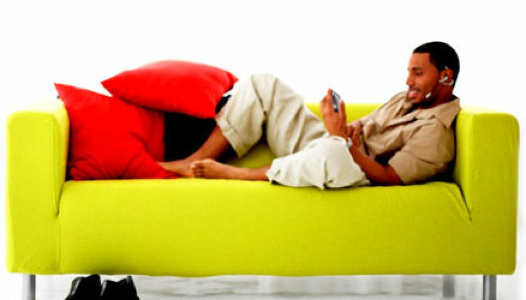 Sløving kan skade ryggen