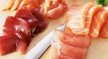 Ikke funn av Listeria-bakterier i sushi