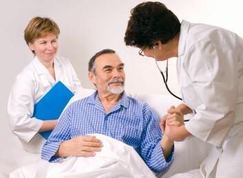 Det er viktig å komme seg raskt til sykehuset for å få behandling etter et hjerneslag. (Foto: Shutterstock)