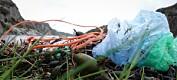 Plast på norske strender kommer fra havområdene nær oss