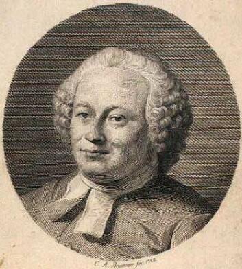 Balthasar Münter (1735-1793). Kunstner: C.A. Brummer. Det Kongelige Bibliotek.