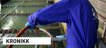 Gull i kloakken: Begrepet «avløpsrenseanlegg» er avleggs og bør skrotes