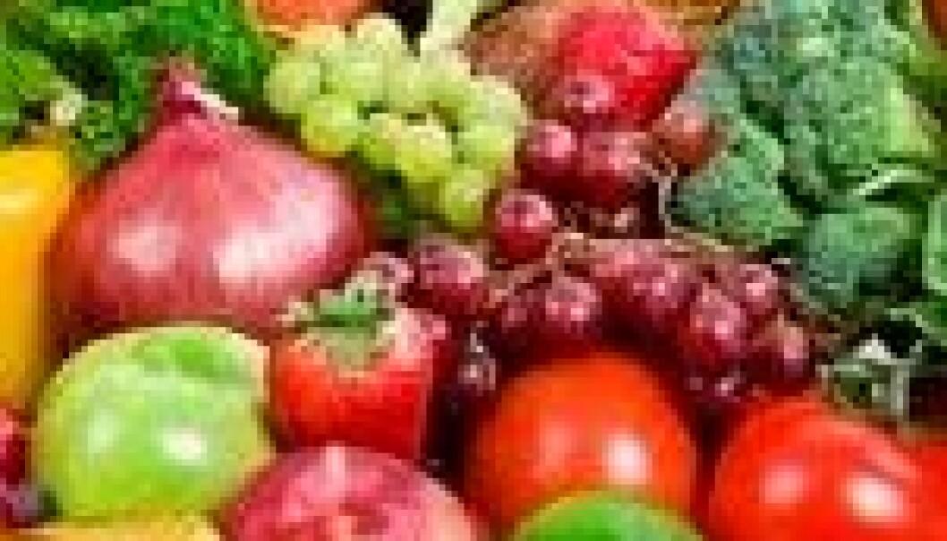 Frukt og grønt beskytter lite mot kreft